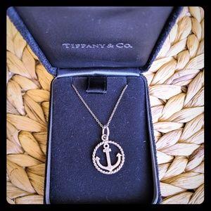 Tiffany's anchor necklace